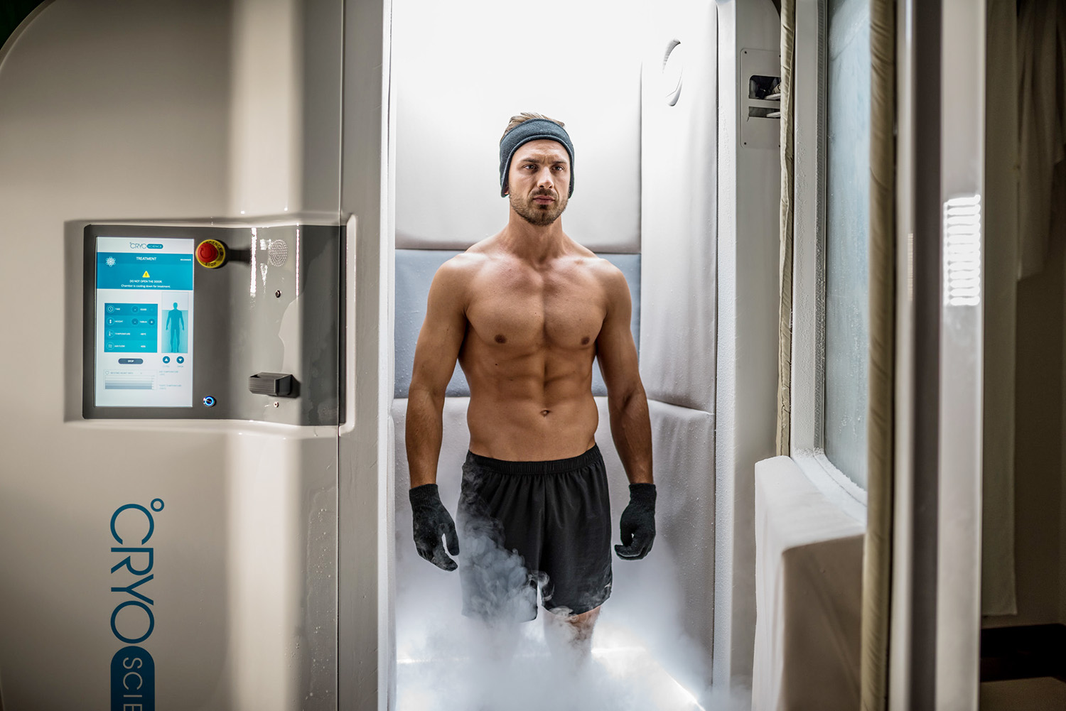 chambre cryotherapie corps entier